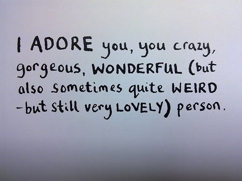 Cute Quotes About Being Weird 10