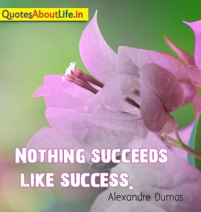 success quotes with flowers
