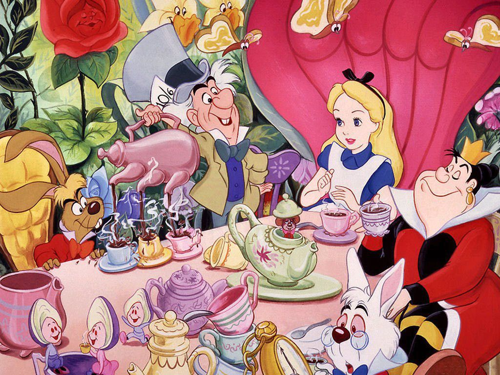 Alice In Wonderland The Mad Hatter S Tea Party Alice In