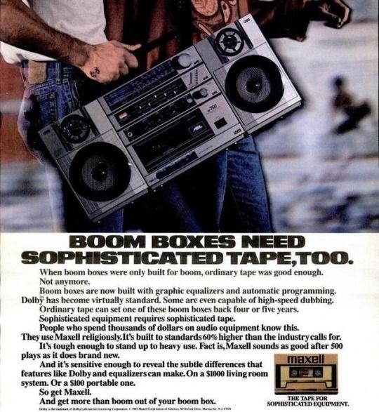 80s Maxell ad