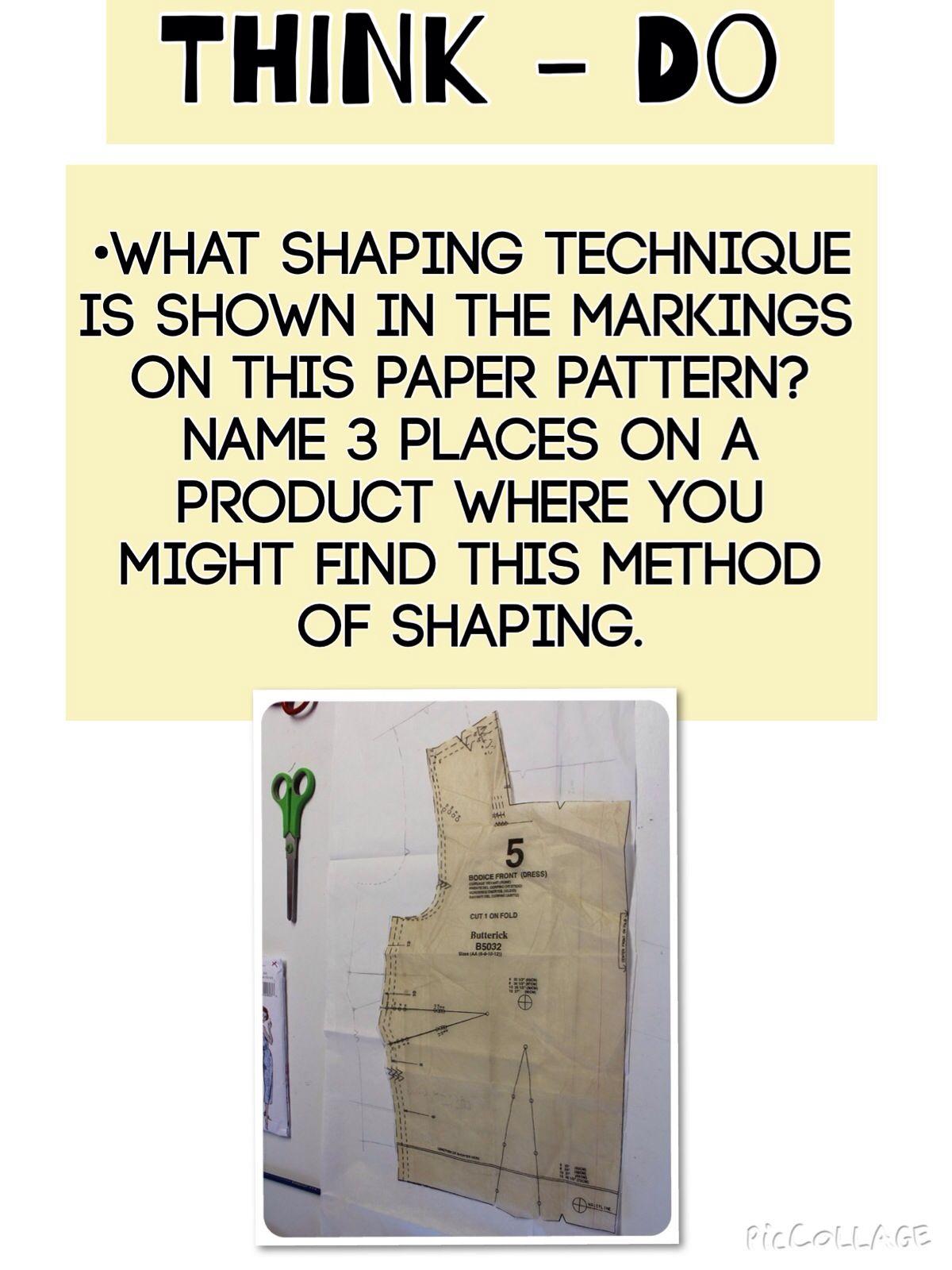 Shaping Methods