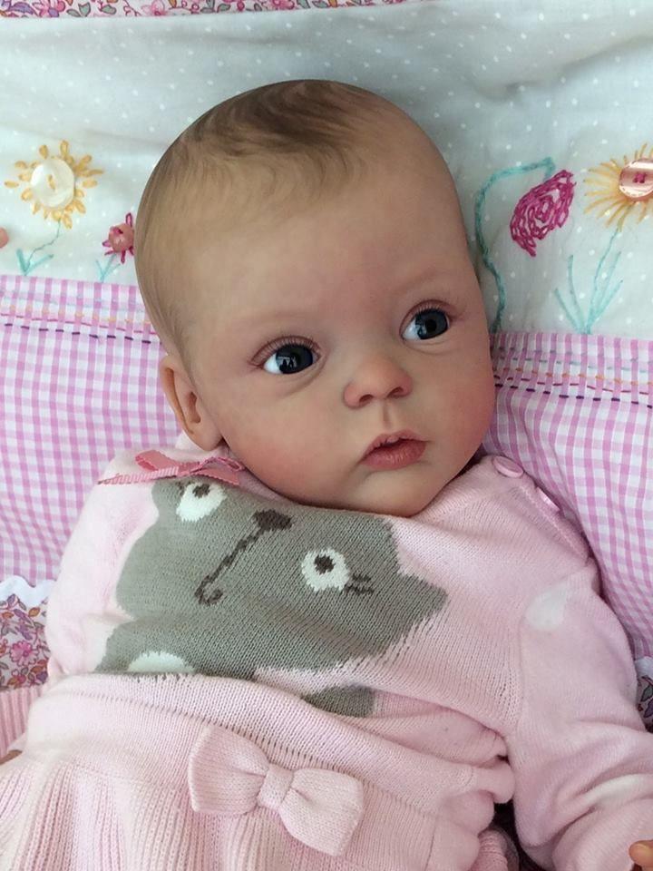 Joanna S Nursery Adorable Rare Reborn Baby Livia By Gudrun Legler