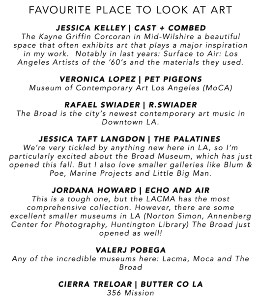 NJAL GUIDE | ART IN L.A.