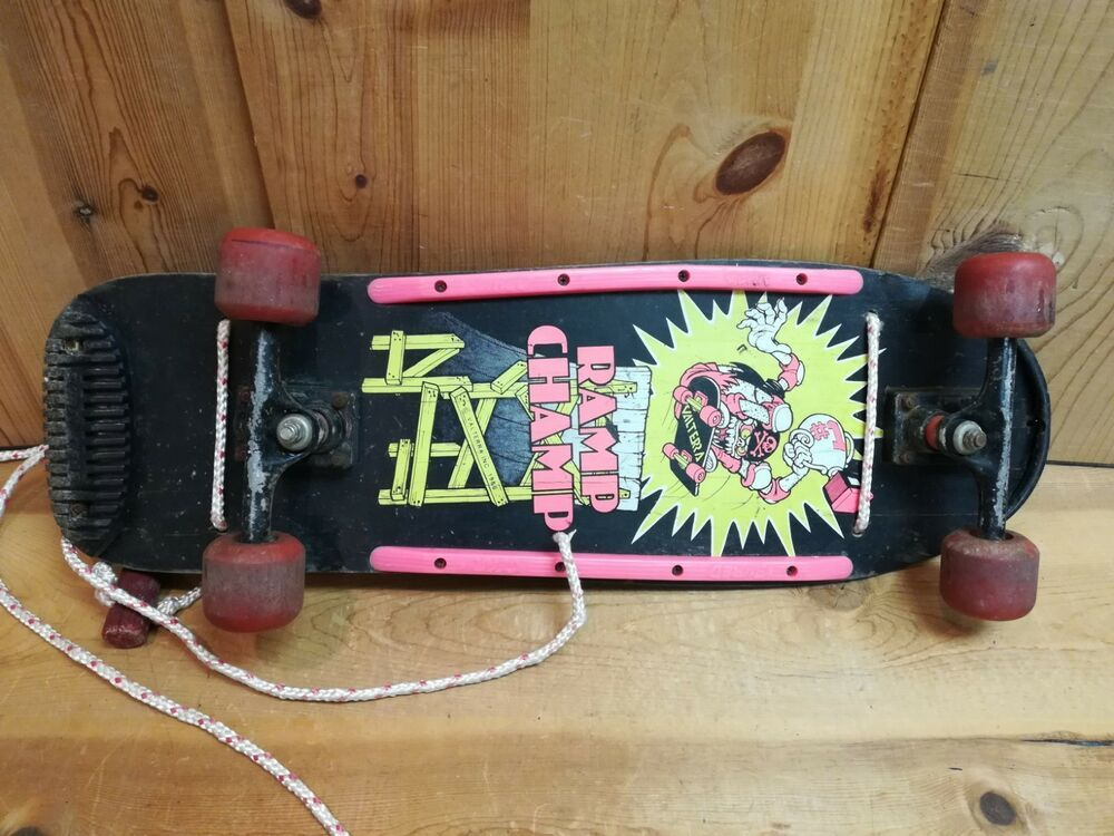 Vintage  Skateboard  Iron On Bad Co Skates