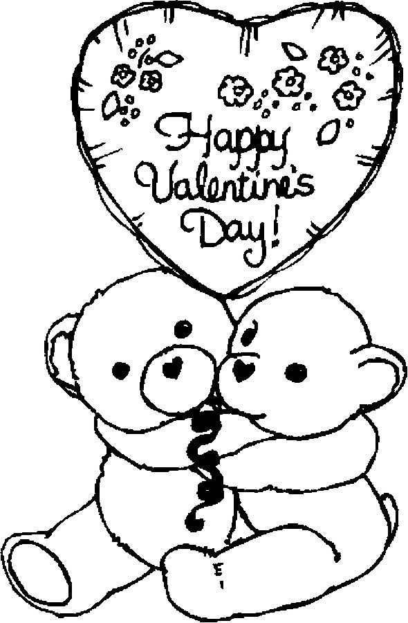 543 Free Printable Valentines Day Coloring Pages For Kids