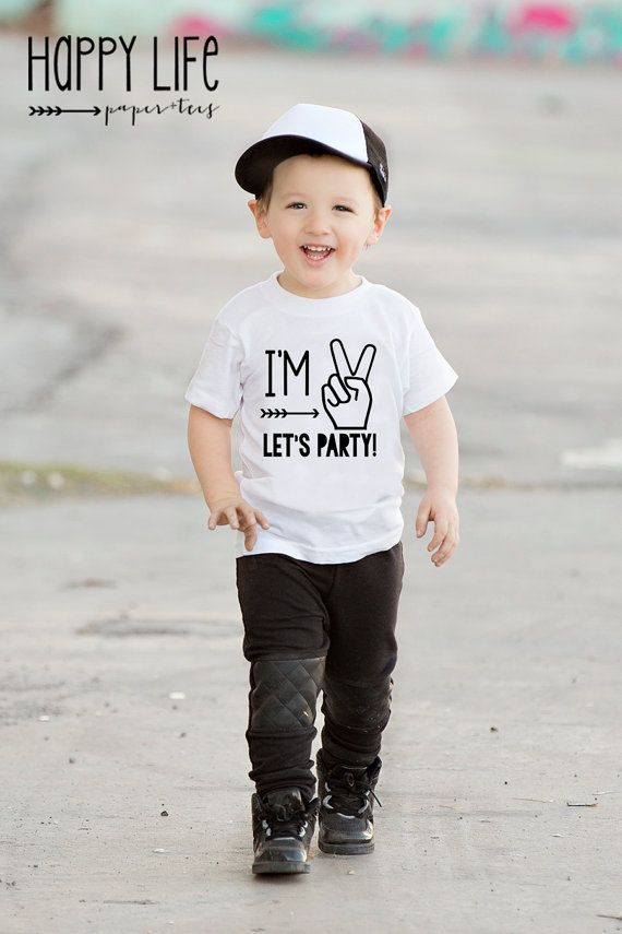 Im TWO Lets PARTY T Shirt Birthday By Myhappylifedesigns 2 Year Old