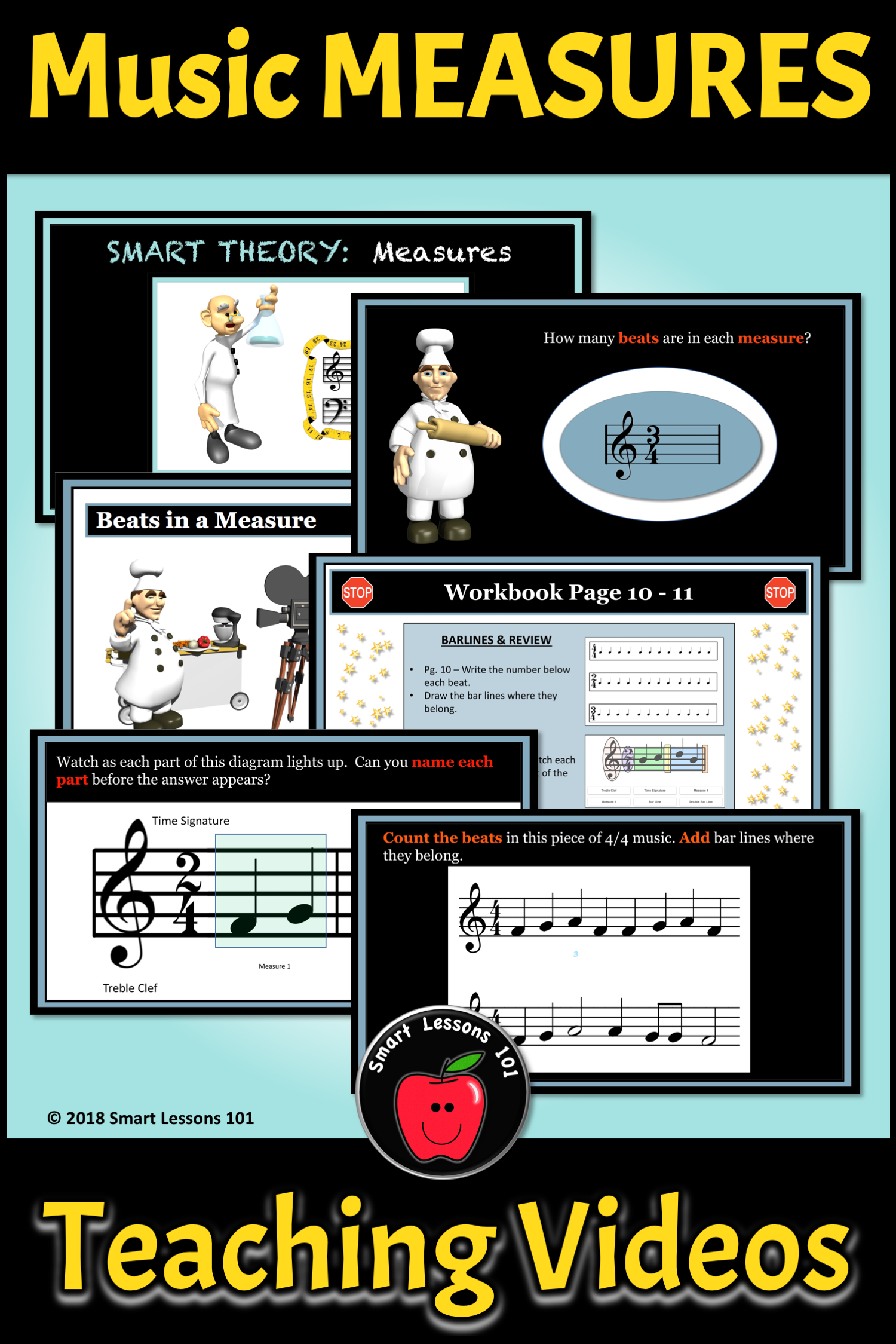 Music Theory Time Signatures And Measures Music Theory