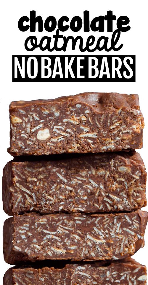 Vegan Oatmeal Chocolate Peanut Butter Bars