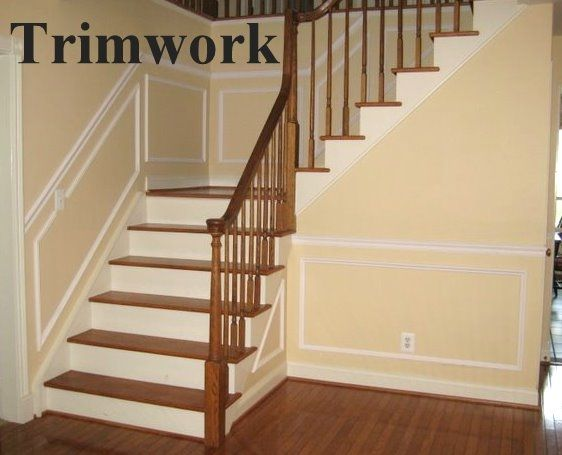 Image result for stair baseboard molding Baseboards and Trim