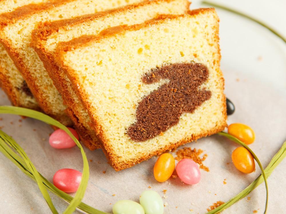 Marmorkuchen Mit Hasen Muster Marmorkuchen Zuckerfreier Kuchen Kuchen