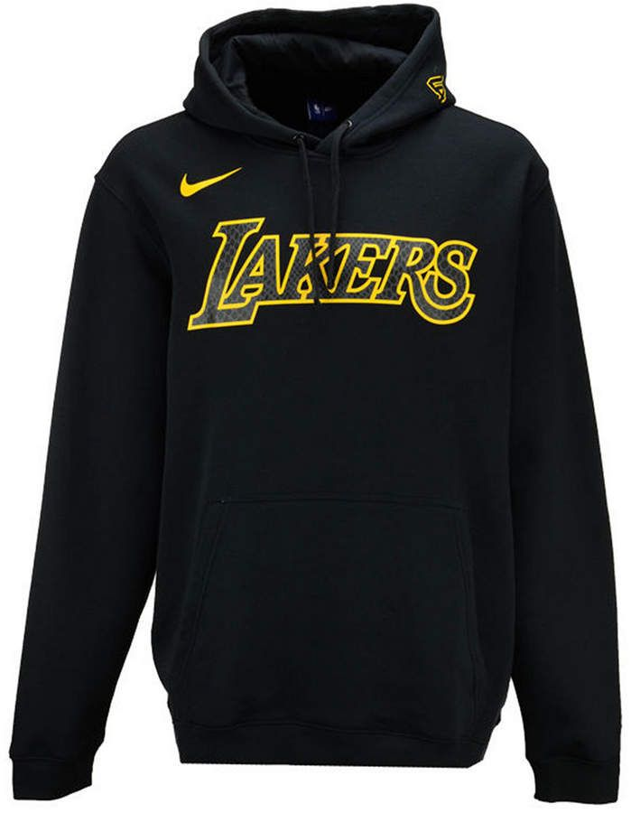 Nike Men S Los Angeles Lakers City Club Fleece Hoodie Hoodies Nike Men Nike Clothes Mens