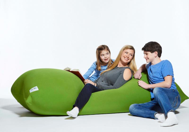 Yogibo Fun Furniture for the Whole Family Bean bag bed