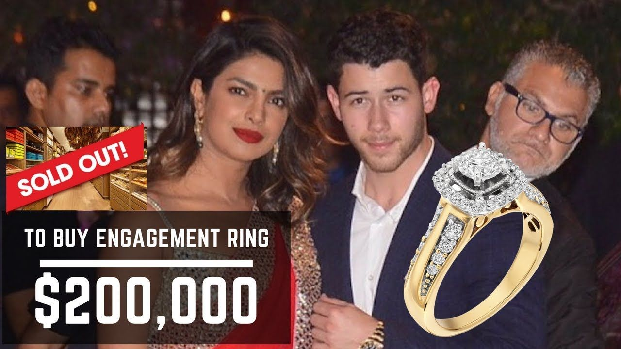 Priyanka Chopra Nick Jonas Gorgeous Engagement Ring Cost 200 000