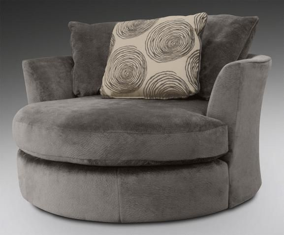Chloe Gray Swivel Chair  Family Living Room Ideas  Pinterest Amusing Chairs Designs Living Room Design Inspiration