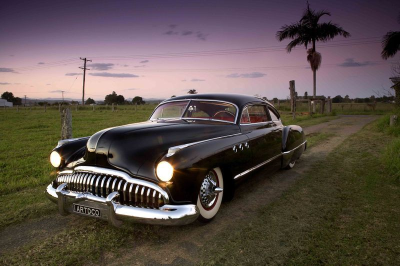 Justin Hills S Beautiful Buick His Next Creation Will Have A Starring Role In The Kustom Annual But In The Nuddy Buick Buick Cars Classic Cars