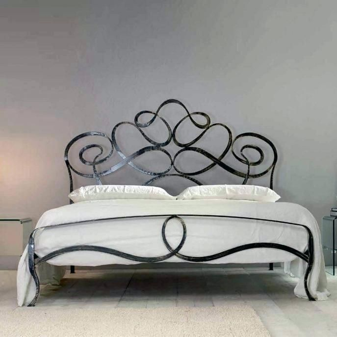 This Bed Wrought Iron Headboard King Medium Size Of Queen Impressive Sassafras And Wood House Quee Wrought Iron Bed Frames Iron Bed Frame Iron Furniture