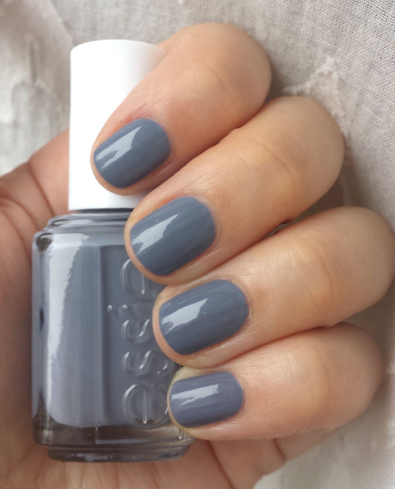Blue Grey Nail Polish : polish, Birthday, Essie, Petal, Pushers, (Polish, Perish), Polish,, Pushers,, Beautiful, Nails