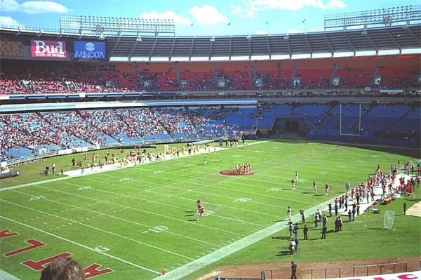 40ccd5ff Information and pictures of Atlanta Fulton County Stadium former ...