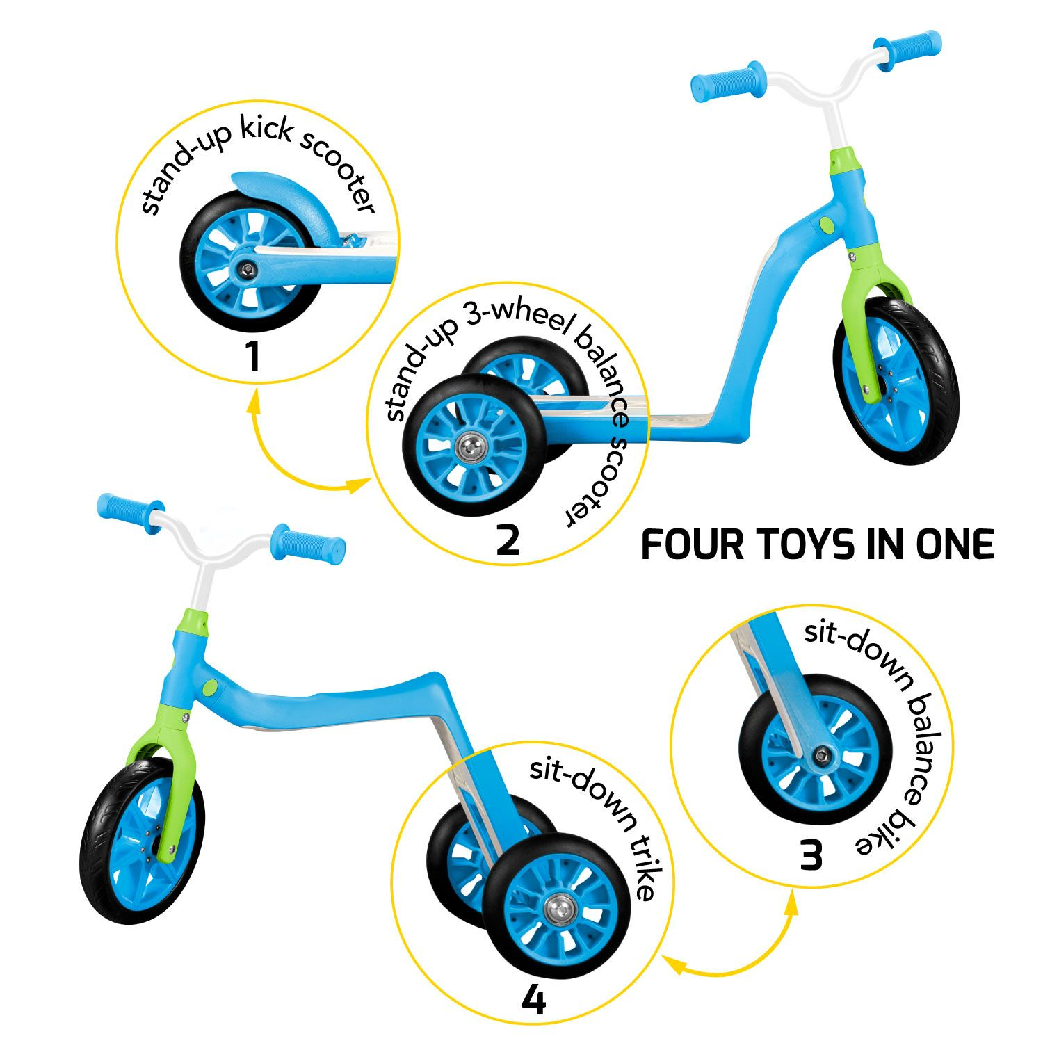 Giveaway From Mommypr Http Www Mommypr Com Swagtron 4 In 1 Toddler Scooter And Balance Bike Giveaway Toddler Scooters Balance Bike Bike