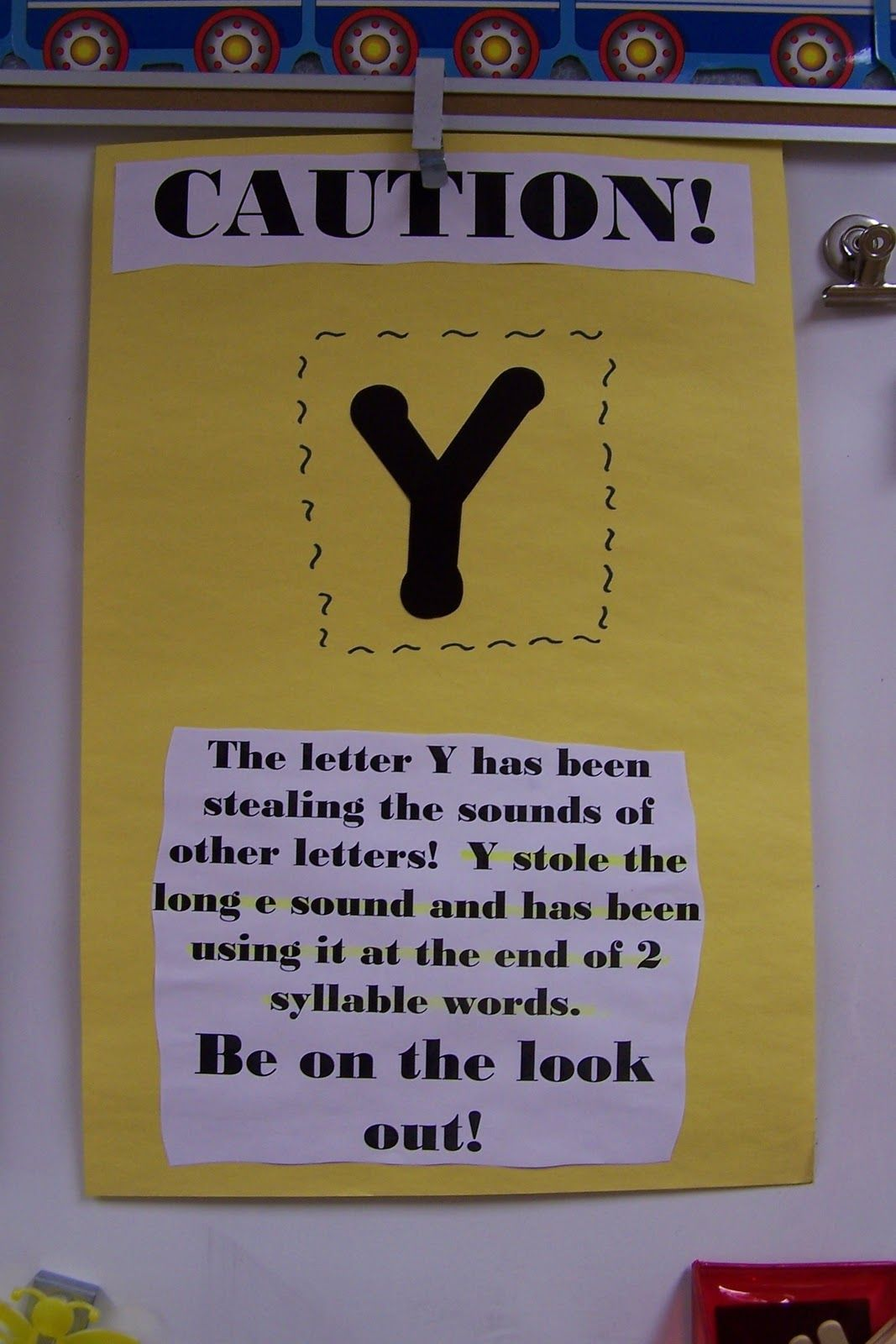 Letter Y At The End Of Words Can Make The Long E Sound