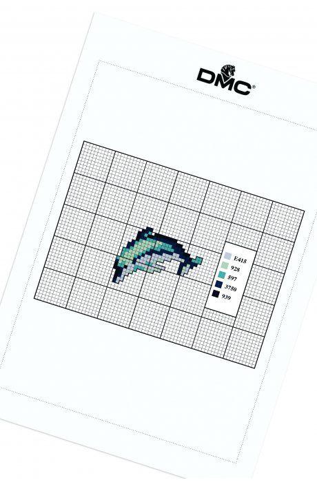 Nautical Delfín - Diagrama - Náutico - DMC | punto de cruz ...