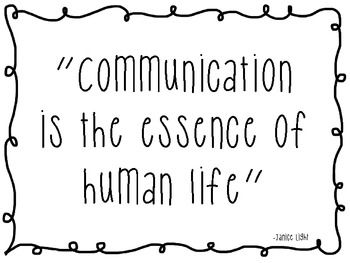 Speech Therapy Quotes Communication Is The Essence Of Human Life  Speech Path  Pinterest