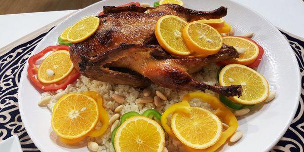 طريقة عمل البط بالبرتقال في المنزل Recipes Food Breakfast