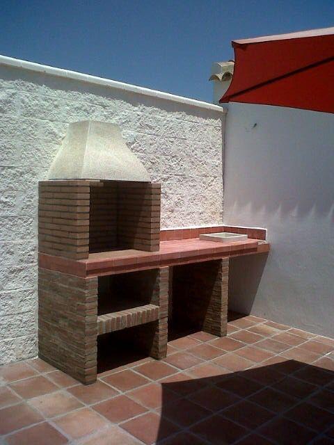 Barbacoa de mamposter a barbacoa de obra en 2019 barbacoa de ladrillo asadores de patio y - Barbacoa de ladrillo ...