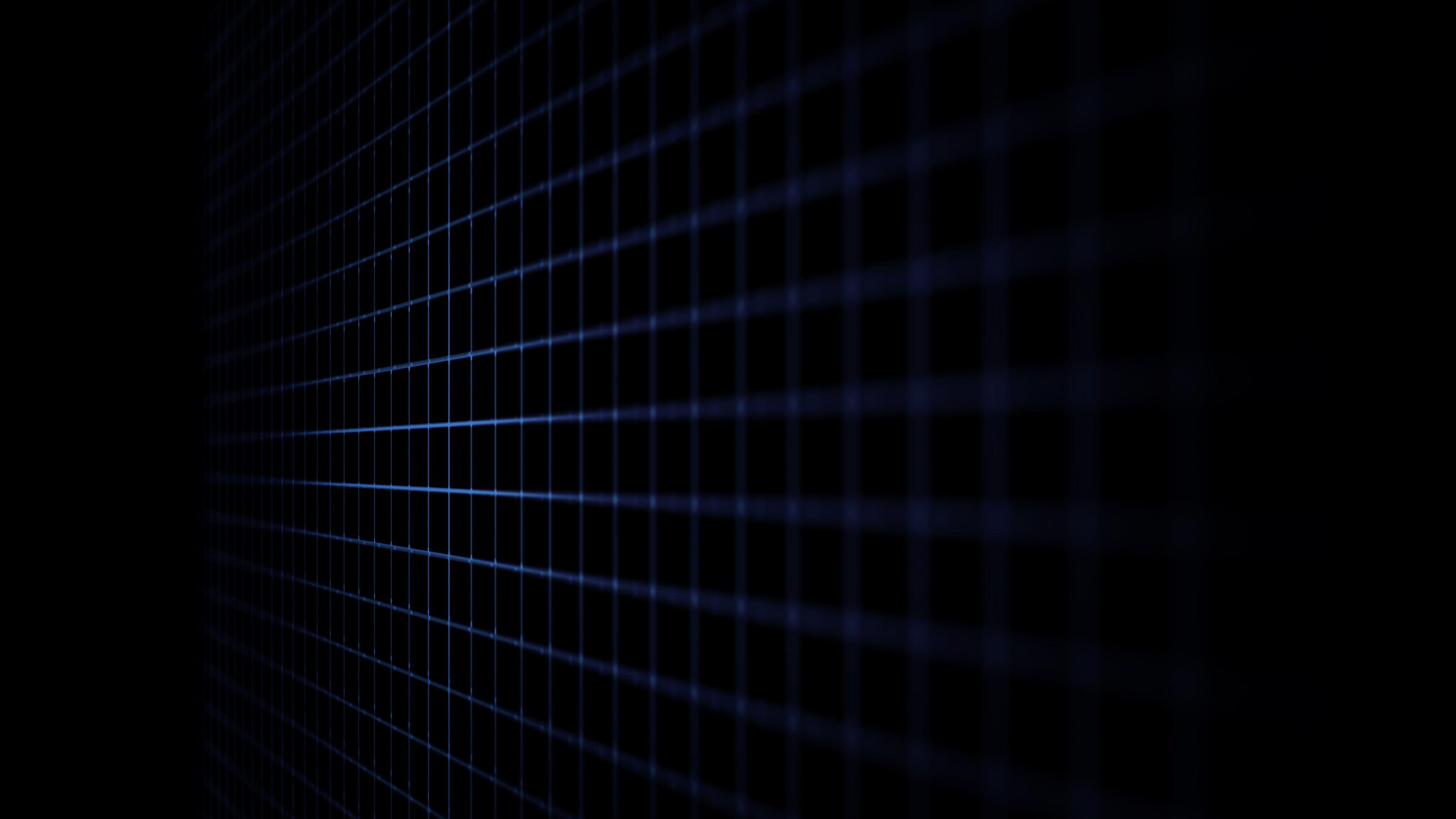 4k Dark Blue Lines Grid Lines 4k Wallpaper Hdwallpaper Desktop Black Wallpaper Dark Wallpaper Cool Black Wallpaper