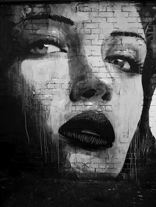 Beautiful black white art