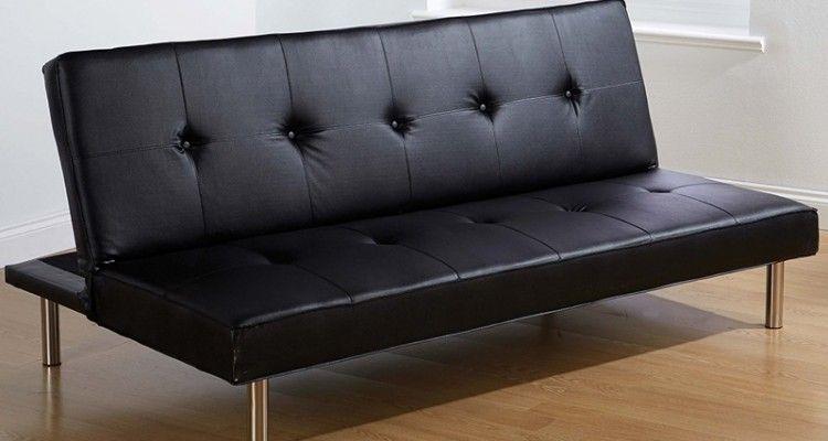 Top 14 Leather Click Clack Sofa Bed Design | Sofa Bed | Sofa bed ...