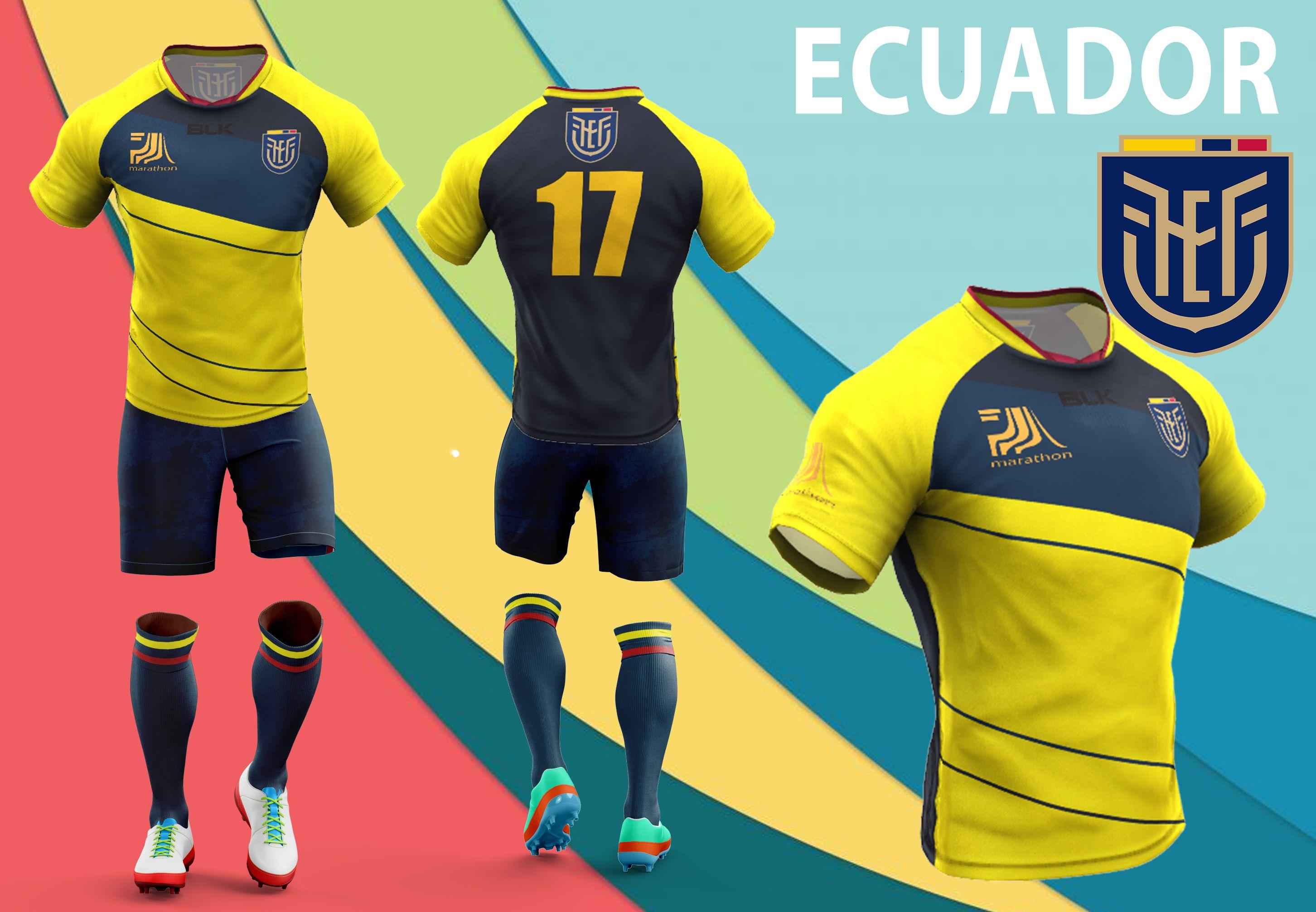 Diseno 3 Ecuador Sports Jersey Swimwear Wetsuit