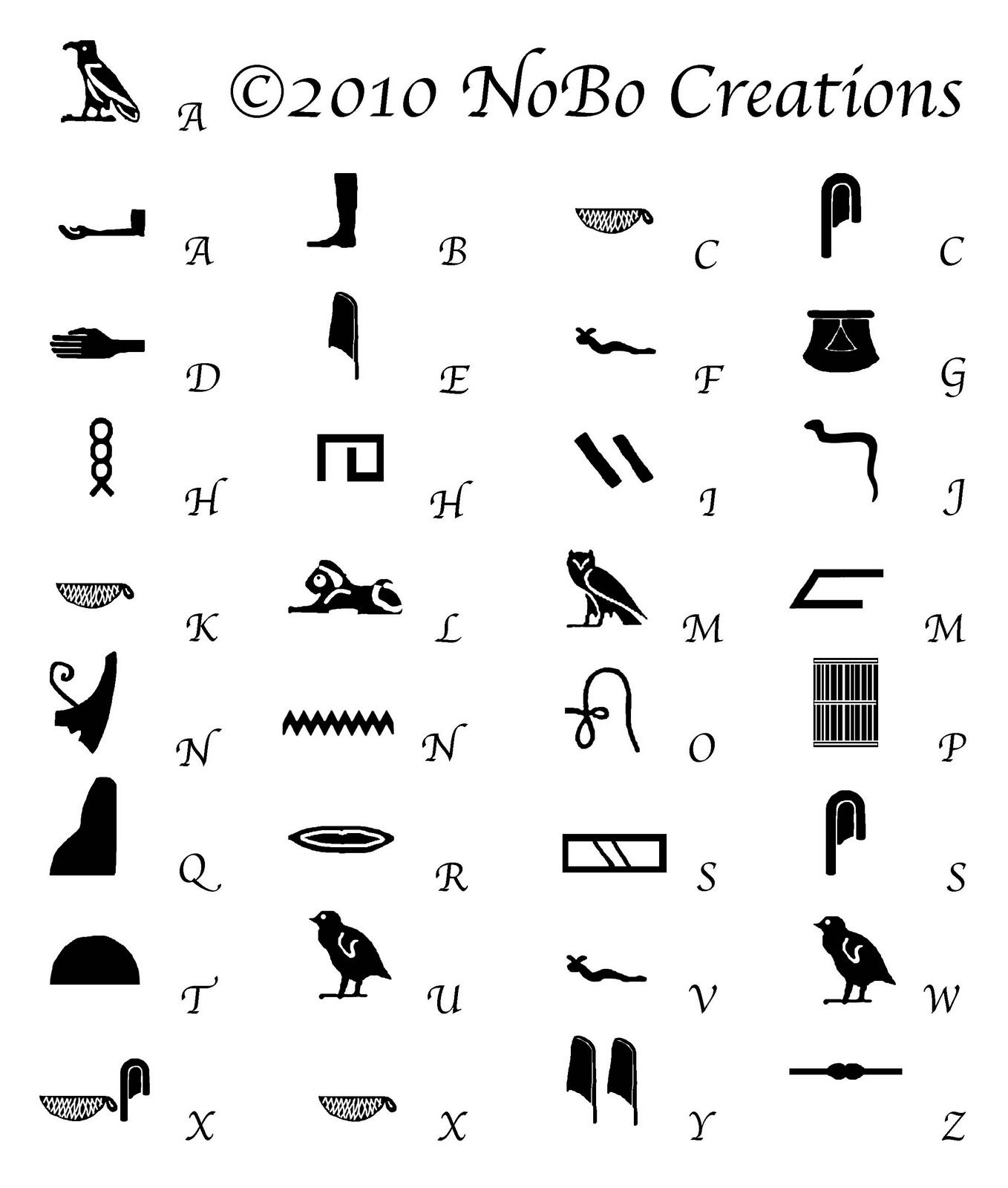 Egyptian Symbol For Knowledge Modistamodesta Egyptian