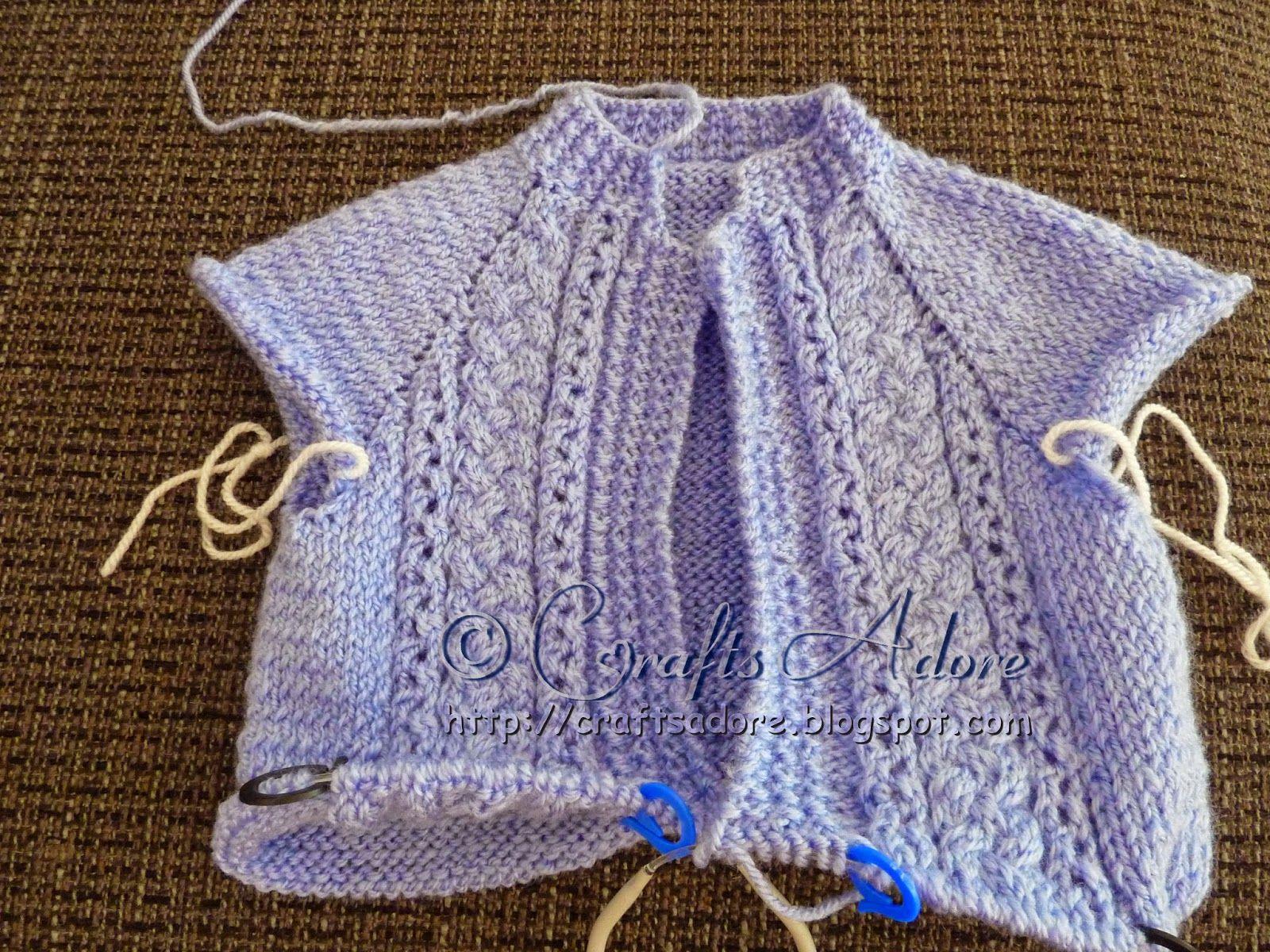 Knitted Baby Boy Cardigan Free Pattern | Baby knits | Pinterest ...