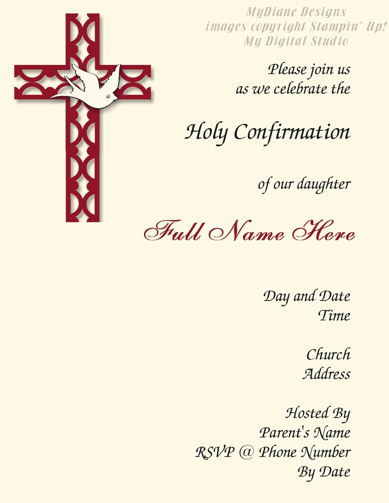 Confirmation Invitation Confirmation Invitations Communion Invitation Wording Invitation Template