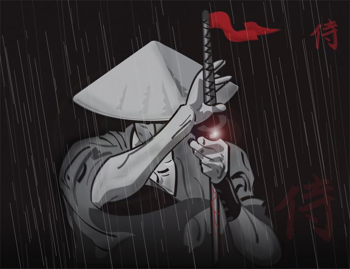 Jubei Ninja Scroll Samurai Art Anime Ninja Samurai Artwork