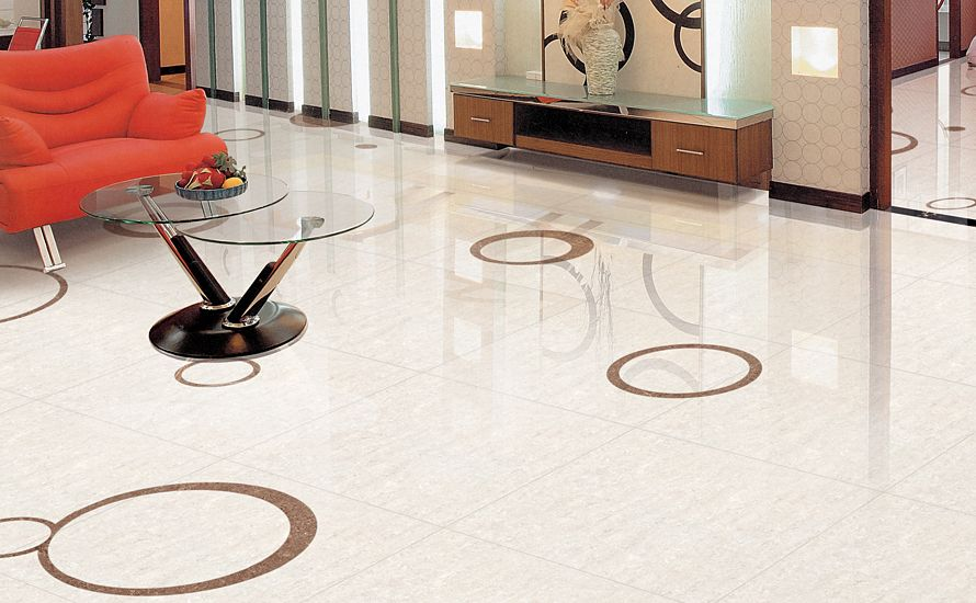 Taupe Tiles From Our Regal Series Are A Fashionable Addition To This Living  Room Space.