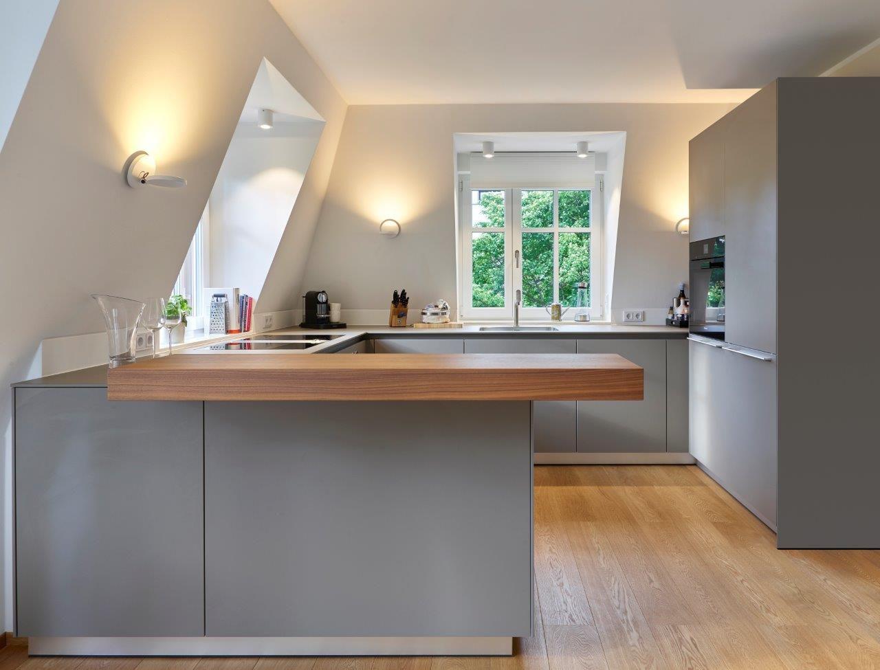 bulthaup b21 trifft klassische Mansarde.   Küchen ideen ...