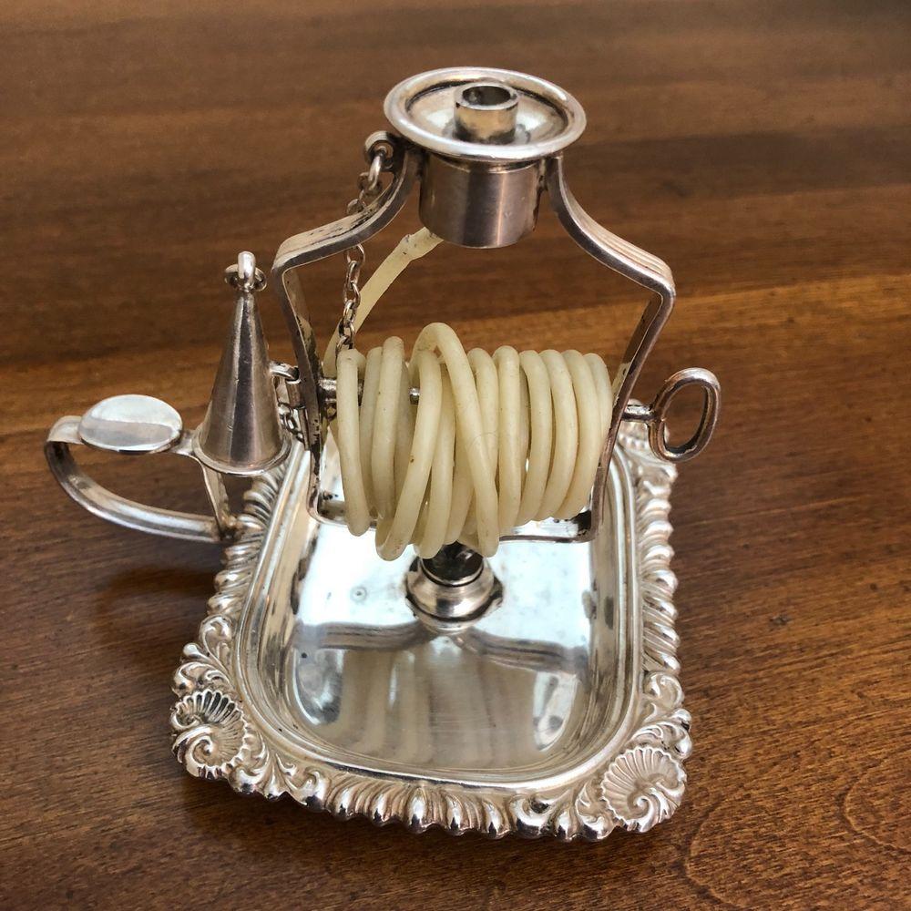 Antique William Adams England Candle Wax Jack Snuffer