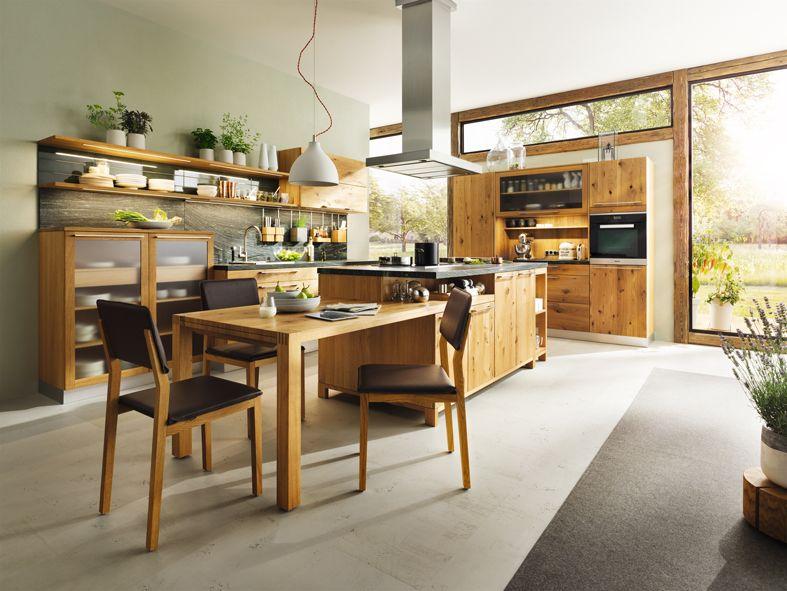 Die loft landhausküche von team 7 aus echtem naturholz ✓ mit liebevollen details ✓ echtes handwerk ✓ eine gesunde küche durch natürliche materialien