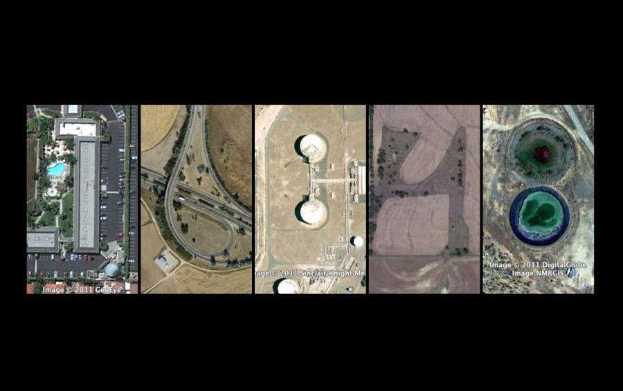 Google Earth Clock. Una ingeniosa forma de mostrar la hora por parte de CW/T #MOD2012