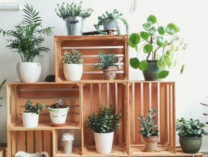 ▷1001+ idées pour fabriquer une étagère en cagette soi-même Shelf