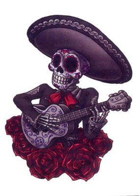 Sugar Skull Skeleton With Sombrero Google Search Tequila