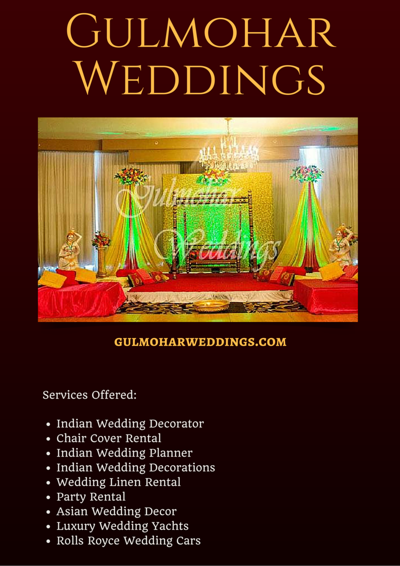 Gulmohar Weddings Is An Indian Event And Wedding Planning Company Based In Richmond Virginia Wedding Planning Company Event Planning Company Wedding Planning