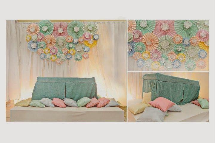 Diy Mini Pelamin Tunang Google Search Shabby Wedding Orange And Pink Wedding Paper Fans