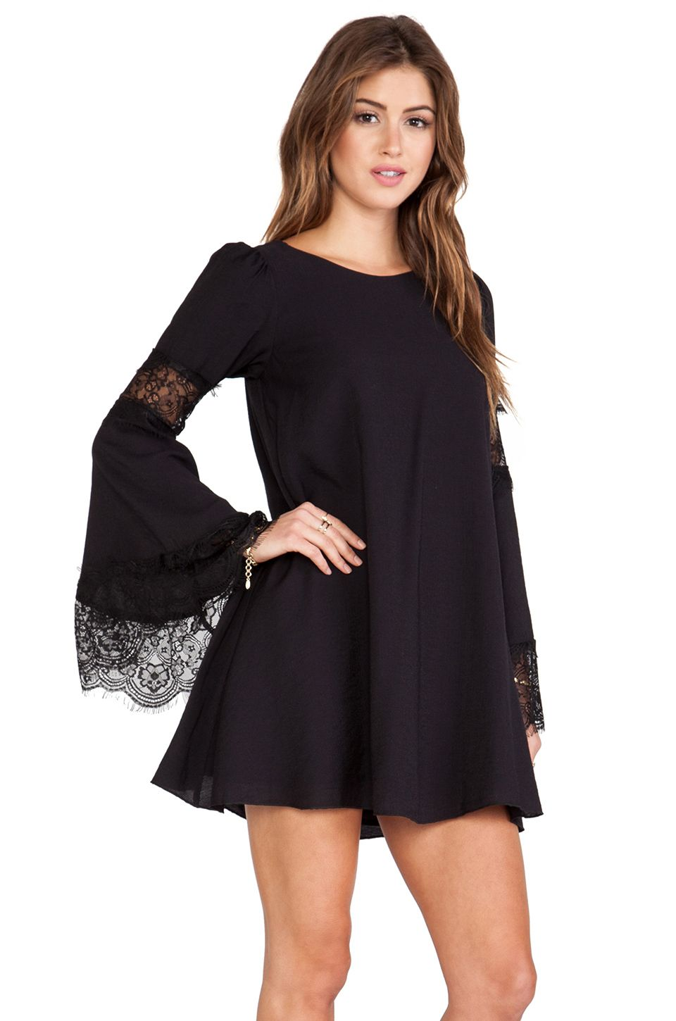 6fd0fda1313b For Love & Lemons Festival Dress in Black | My Style: Clothes ...
