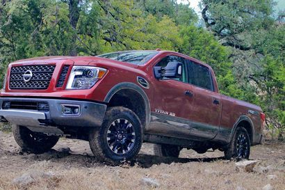 2016 Nissan Titan takes Truck of Texas Award LotPro