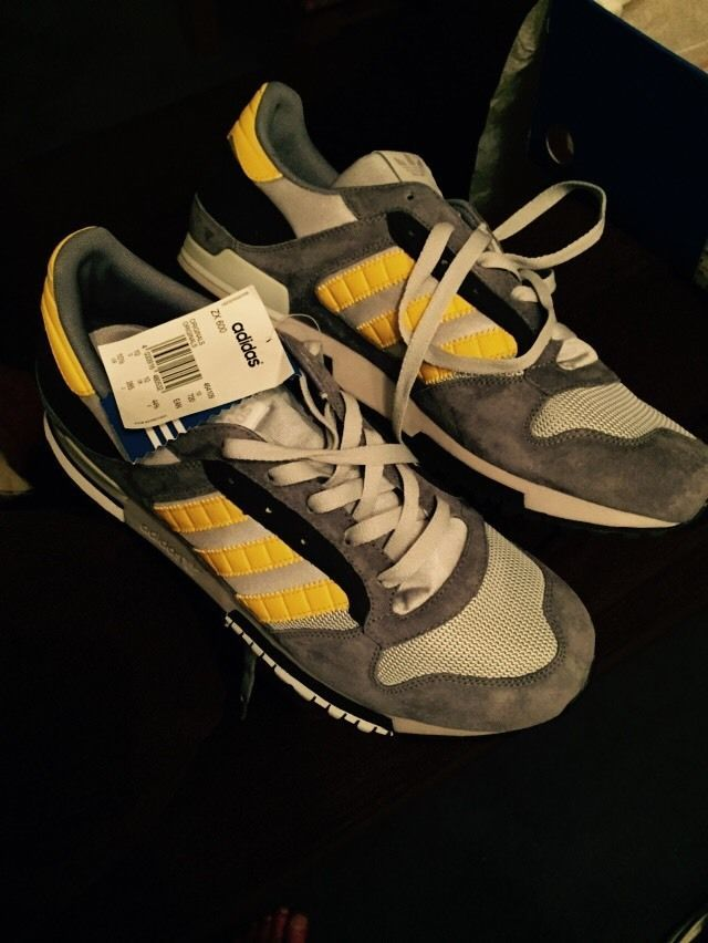 61f1198ab Adidas Originals ZX 600 UK 10 2006 VERY RARE Casuals Not Ardwick Jamaica  Dublin