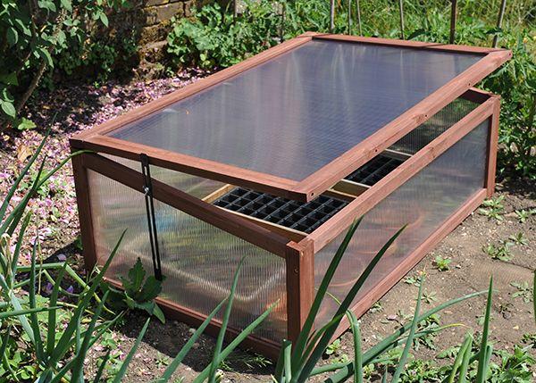Wooden cold frame | Cold frames | Pinterest | Cold frame and Gardens
