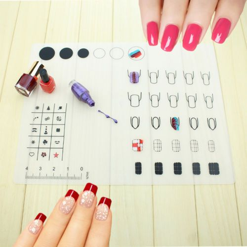 Nail Art Soft Silicone WorkSpace Stamping Plate Transfer Mat Sheet Table Mat https://t.co/EMo0QHQ2rf https://t.co/RSptZJtsM7